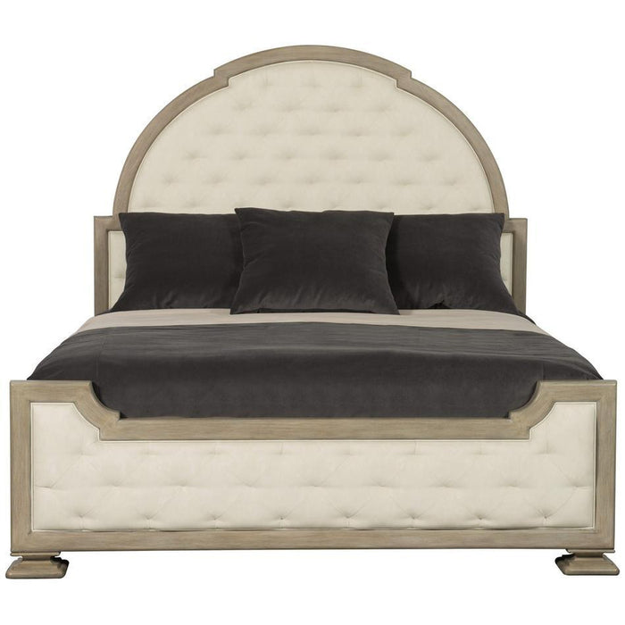 Bernhardt Santa Barbara Upholstered Tufted Panel Bed