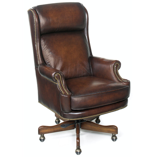 Hooker Furniture Home Office Kevin Executive Swivel Tilt Chair