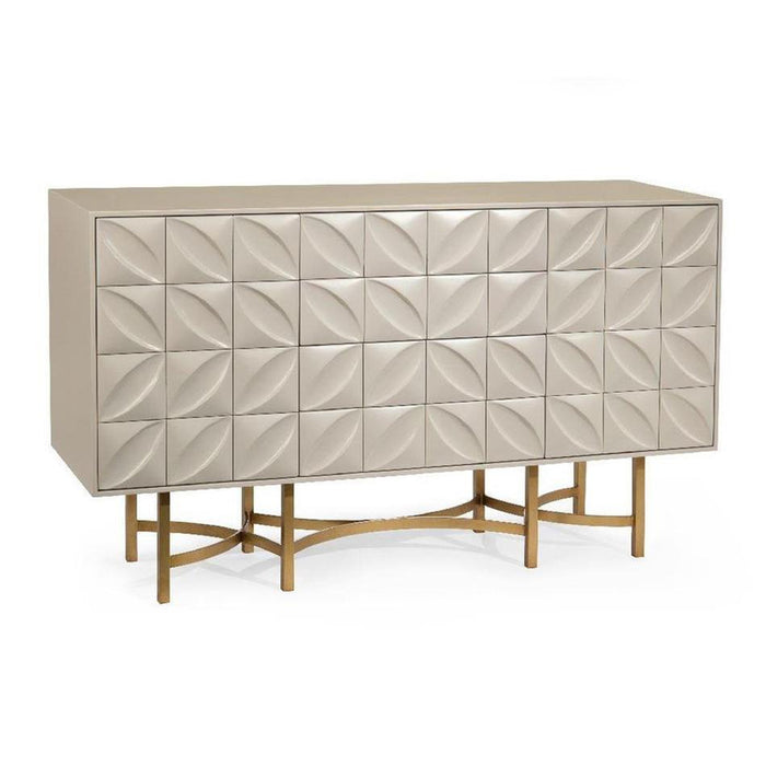 John Richard Ghost White Credenza