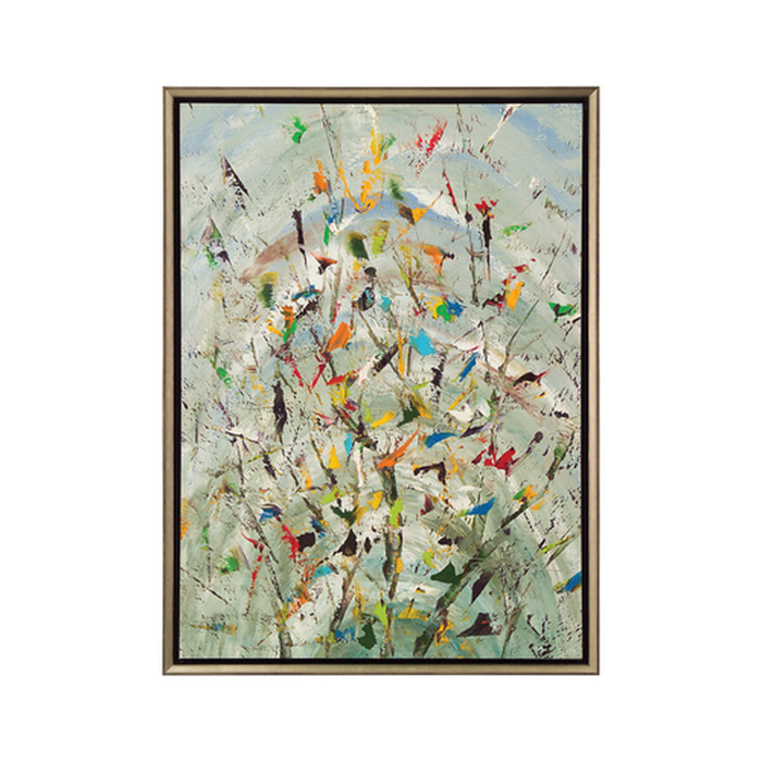 "John Richard ""Jinlu"" The Confetti Garden Painting"