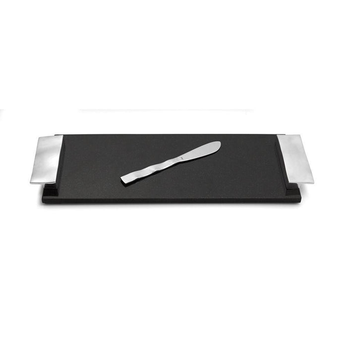 Michael Aram Ripple Effect Cheese Board with Knife Small