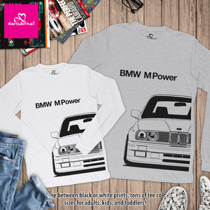 BMW M Power E30 M3 - Unisex Long Sleeve T-Shirt