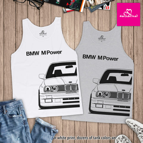 BMW M Power E30 M3 - Unisex Tank Top
