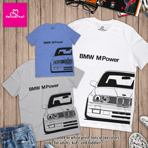 BMW M Power E30 M3 - Unisex Short Sleeve T-Shirt