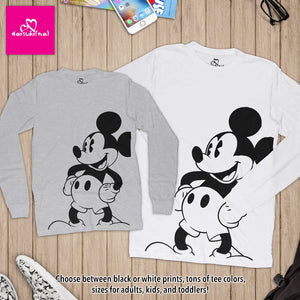 Classic Mickey Mouse - Unisex Long Sleeve T-Shirt