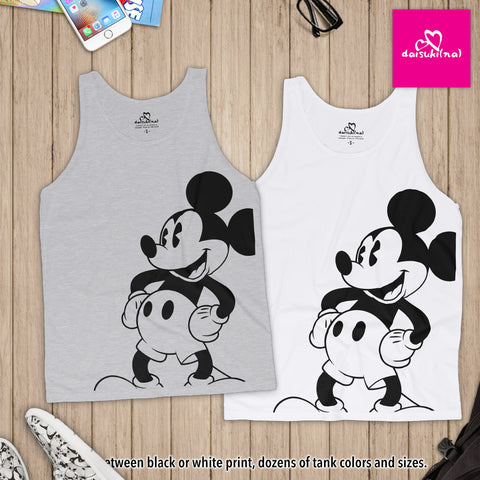 Classic Mickey Mouse - Unisex Tank Top