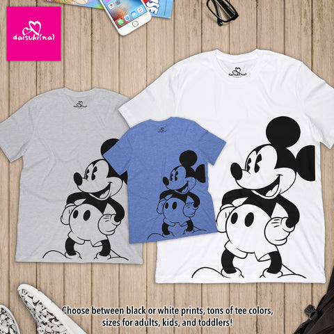 Classic Mickey Mouse - Unisex Short Sleeve T-Shirt