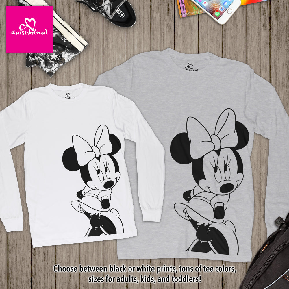 Classic Minnie Mouse - Unisex Long Sleeve T-Shirt