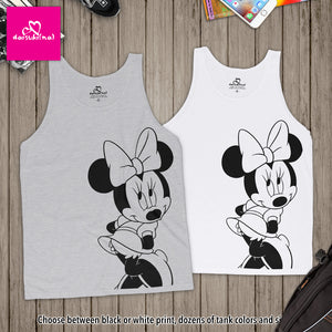Classic Minnie Mouse - Unisex Tank Top
