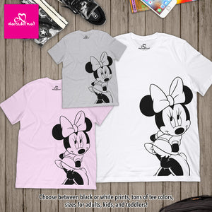 Classic Minnie Mouse - Unisex Short Sleeve T-Shirt