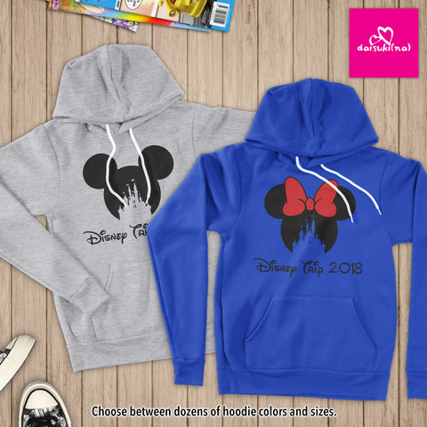 Magic Kingdom Disney Trip 2018 - Unisex Pullover Hoodie