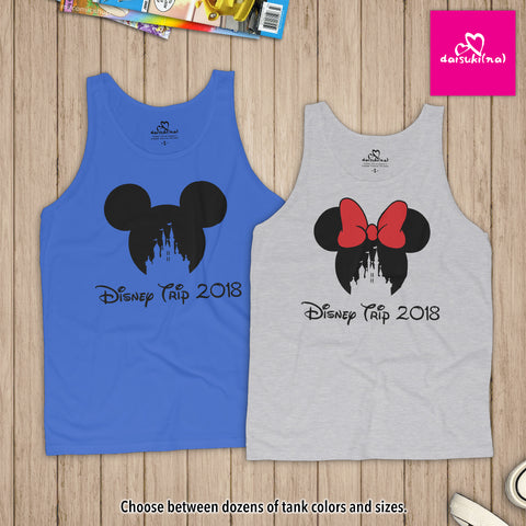 Magic Kingdom Disney Trip 2018 - Unisex Tank Top
