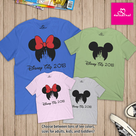 Magic Kingdom Disney Trip 2018 - Unisex Short Sleeve T-Shirt