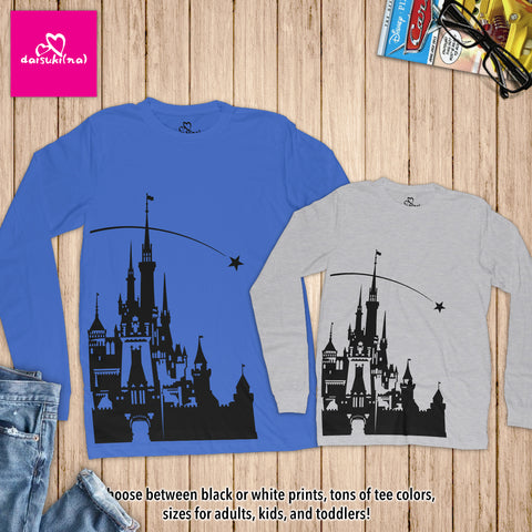Sleeping Beauty Castle - Unisex Long Sleeve T-Shirt
