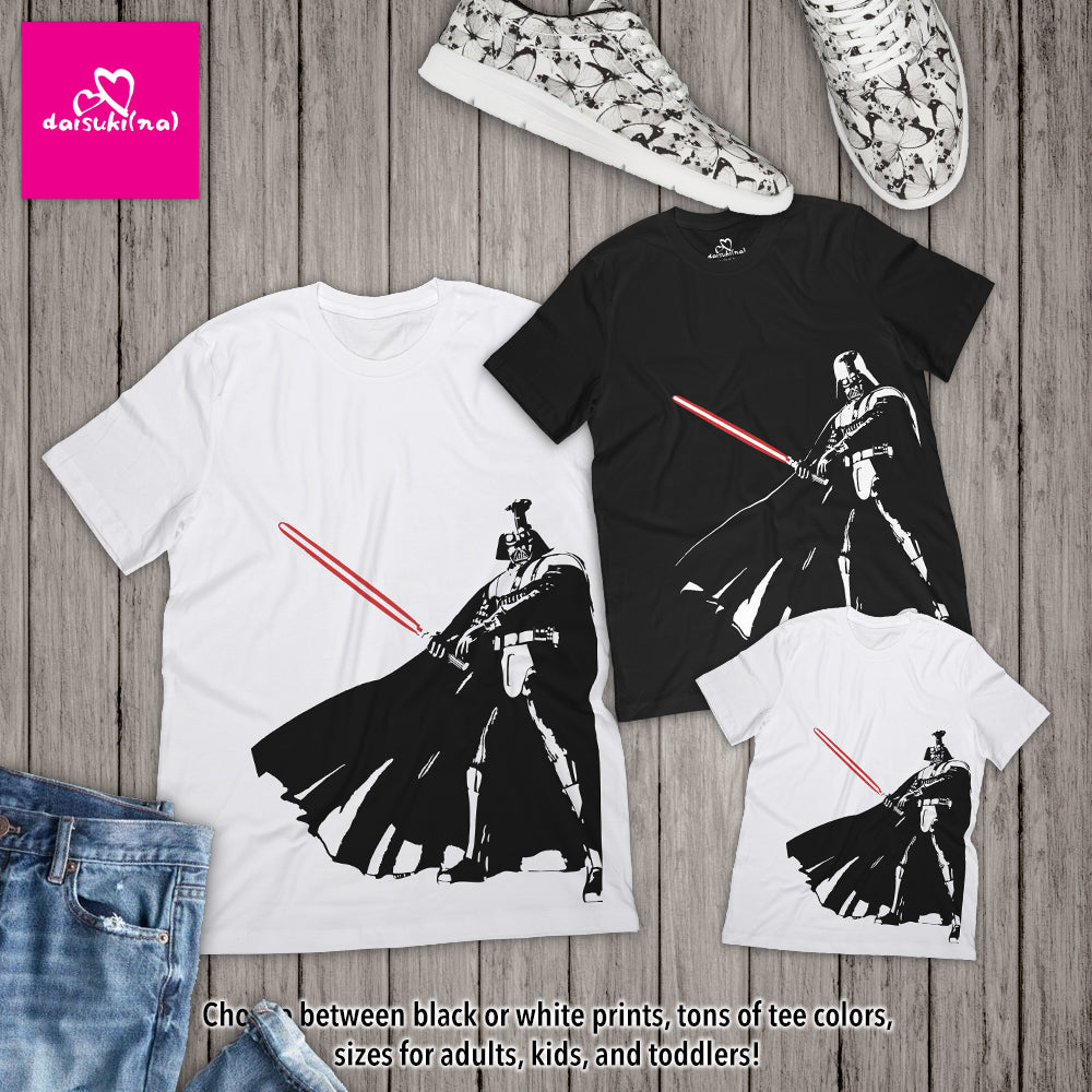 Darth Vader Form V Stance - Unisex Short Sleeve T-Shirt