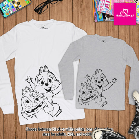 Chip 'n' Dale - Unisex Long Sleeve T-Shirt
