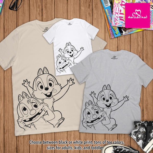 Chip 'n' Dale - Unisex Short Sleeve T-Shirt