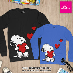 Snoopy in Love - Unisex Long Sleeve T-Shirt