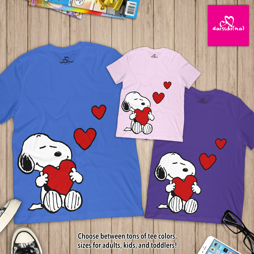 Snoopy in Love - Unisex Short Sleeve T-Shirt