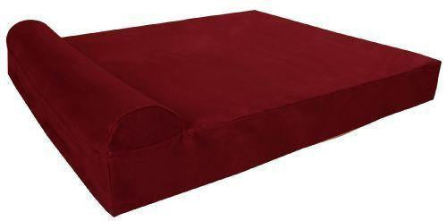 "Giant - 60"" * 48"" * 7"" / Burgundy / Headrest Edition"