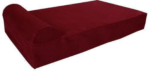 "Large - 48"" * 30"" * 7"" / Burgundy / Headrest Edition"