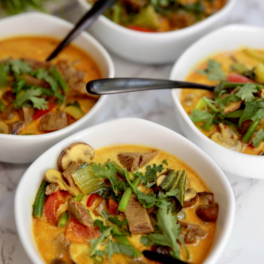 Beef Coconut Curry