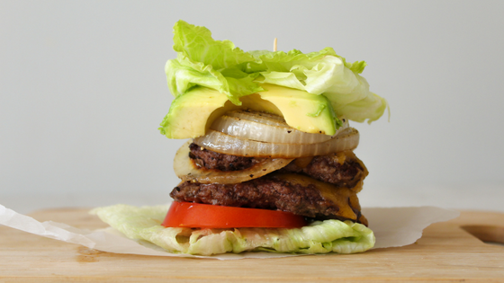 Double-Decker, Keto Smash Burger