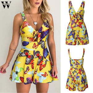 Womail bodysuit fashion Sleeveless