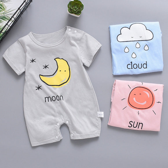 Baby Clothes Short Sleeve Romper