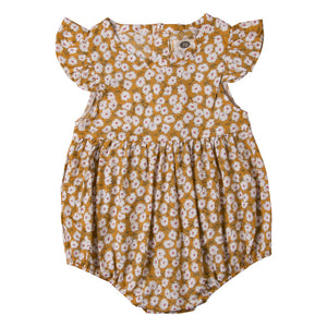 Pudcoco Newborn Flower Rompers for Girl