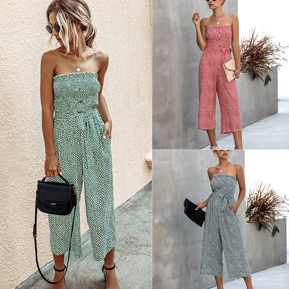 Fashion summer sexy jumpsuit