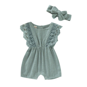 Summer Baby Girl Rompers for Newborn
