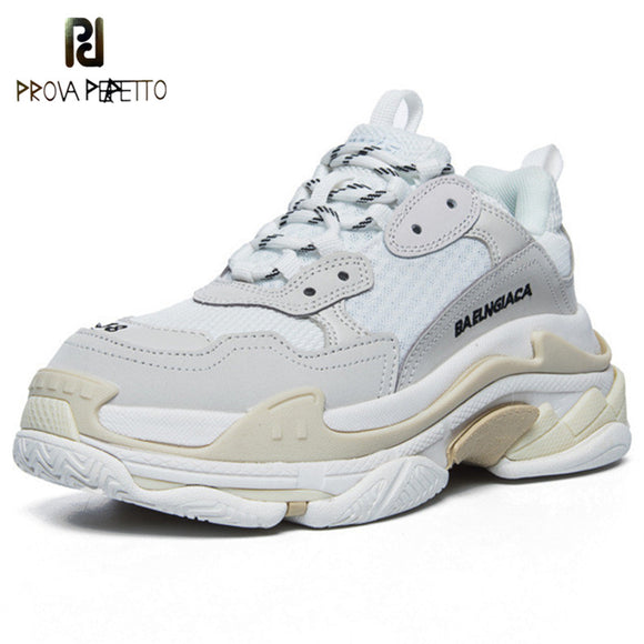 2020 Woman Vulcanize Shoes Celebrity Chunky Sneakers