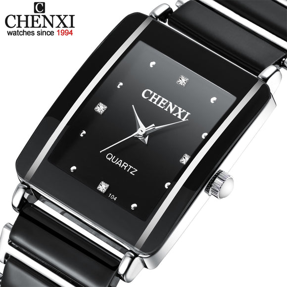 Imitation ceramic Quartz Wristwatches for Women