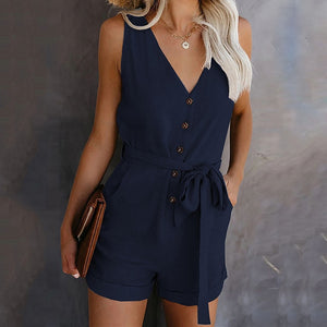 Summer sexy jumpsuit
