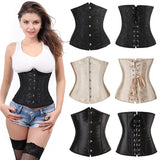 Satin Bustier Lace Up