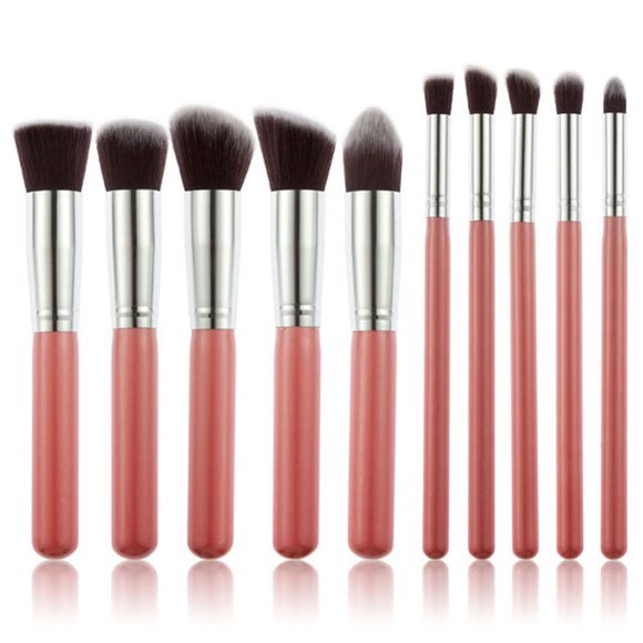10 pcs Professional Makeup Brush Set