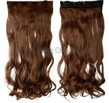 "18/24/28/30"" Long Curly Synthetic Clip in Hair Extension"