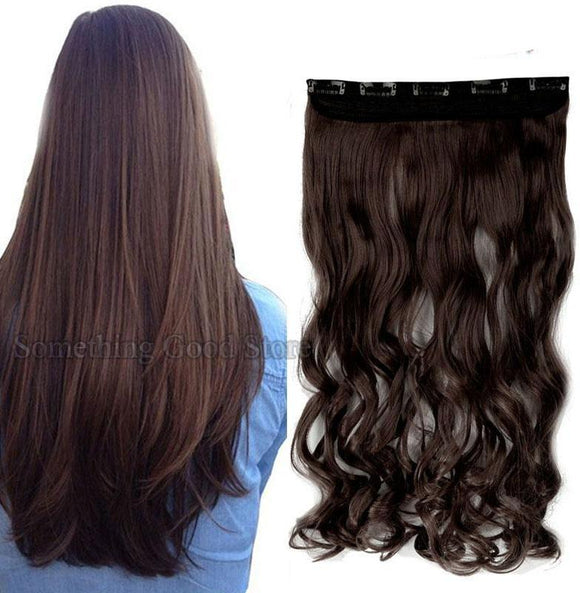 26inch Synthetic  Clip in Hair Extension