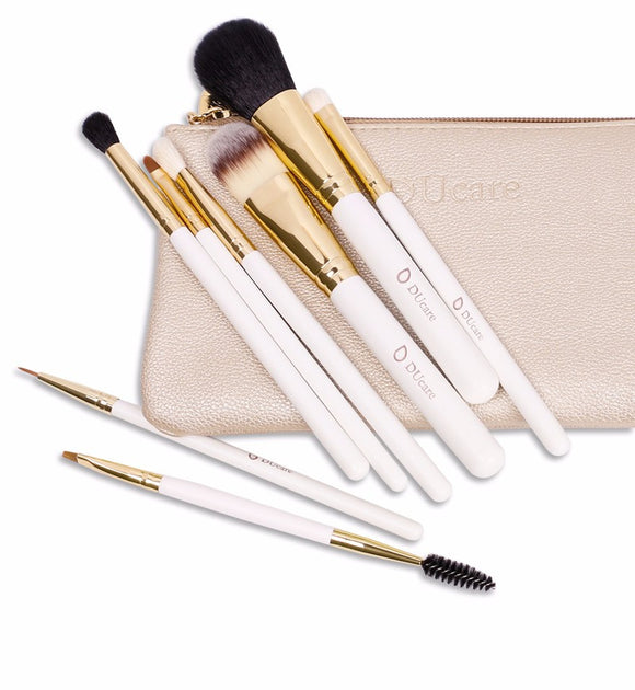 8 pcs Professional Makeup Brushes With Bag