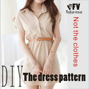 Clothing DIY dress Sewing Pattern