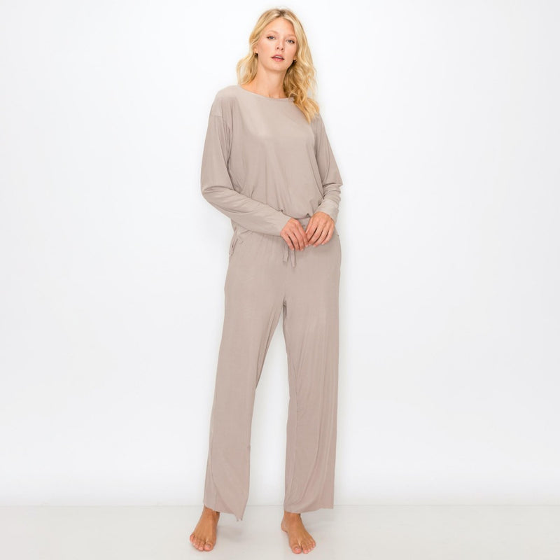 Jersey Knit Loungewear Set