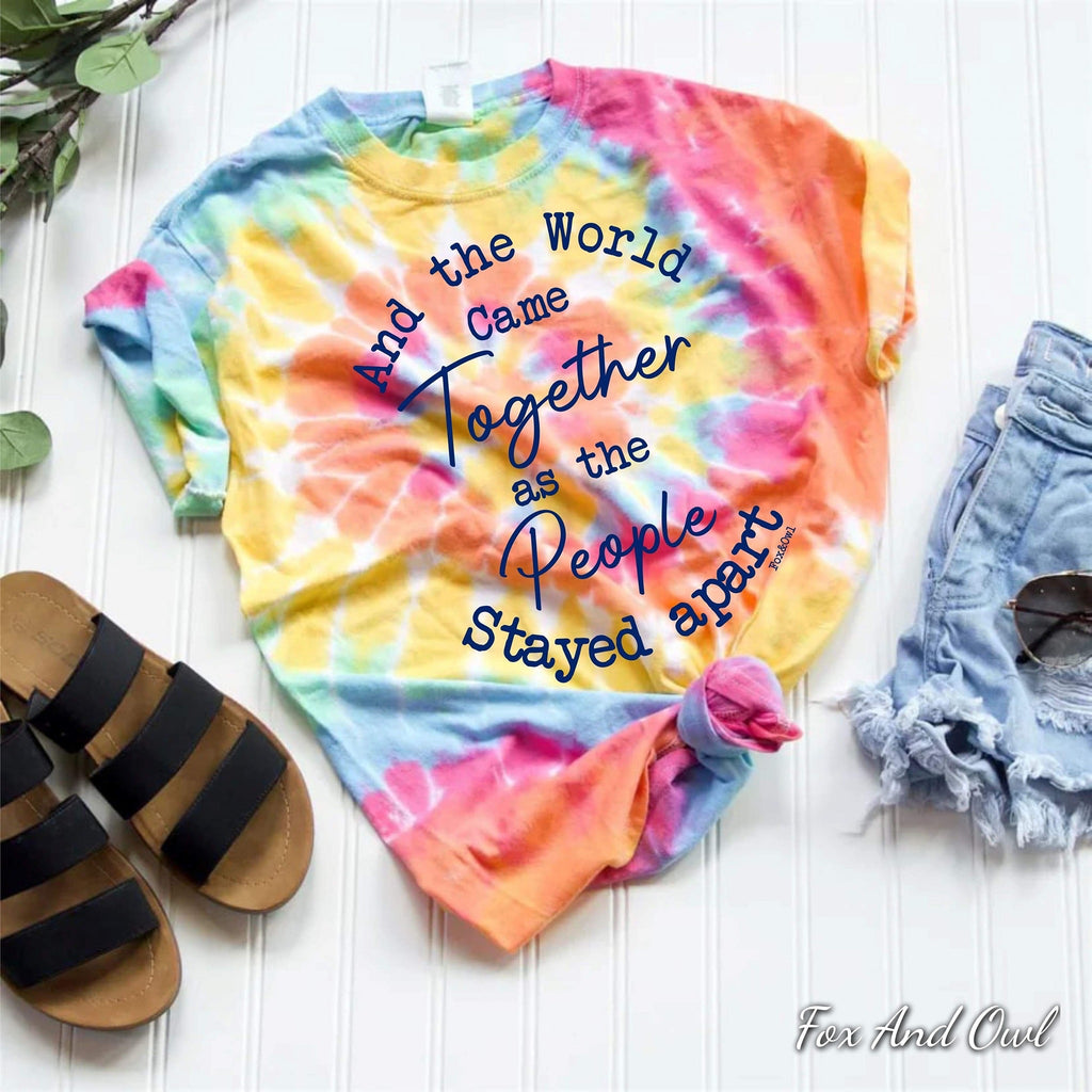 And The World Came Together Tee (Small-XL)
