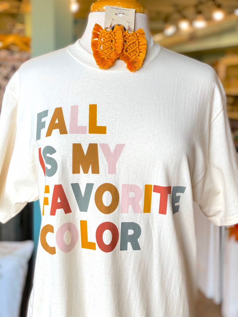 Fall is My Favorite Tee