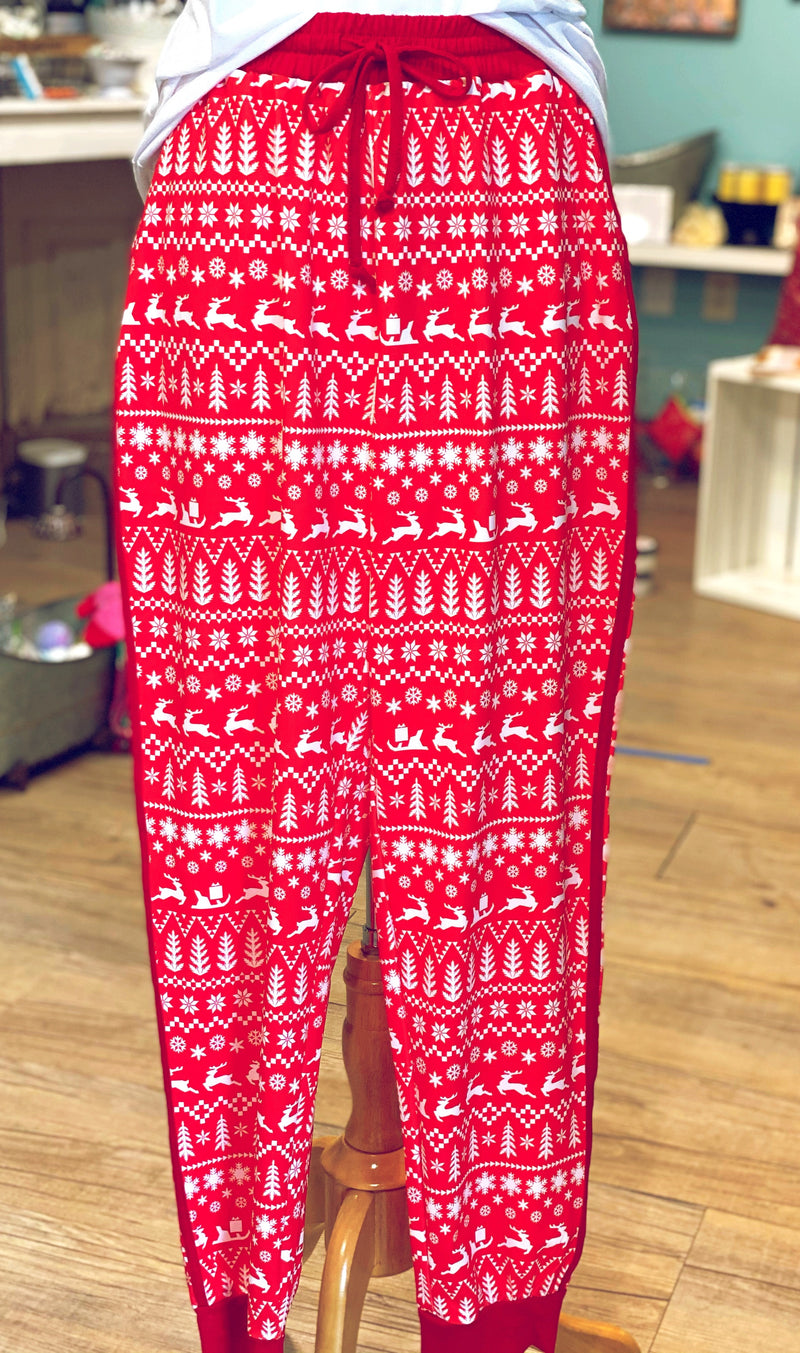 Silent Night Joggers
