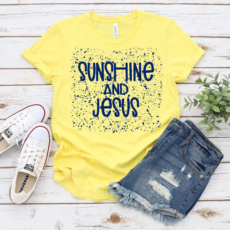 Sunshine and Jesus Tee