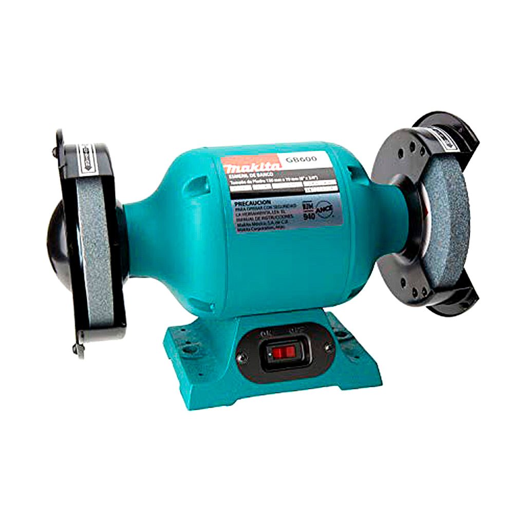 GB600 ESMERIL DE BANCO 6P 400W 2850 RPM 3.6 AMPS MAKITA