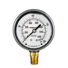 Liquid Filled – (7LF Series) Pressure Gauges