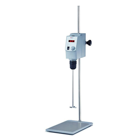 DLAB OS20-S Package | Digital Overhead Stirrer Main Body + Universal Plate Stand + Crossed Stirrer