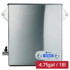 Shield Ultrasonic SC-475 Ultrasonic Cleaner 4.75gal / 18l | Stainless Steel, Heating, Digital, Laboratory Grade 25k